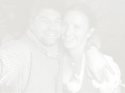 Die Gastgeber Daniela & Markus