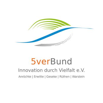 Logo der LEADER-Region 5verBund