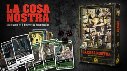 La Cosa Nostra - Mafia Kartenspiel