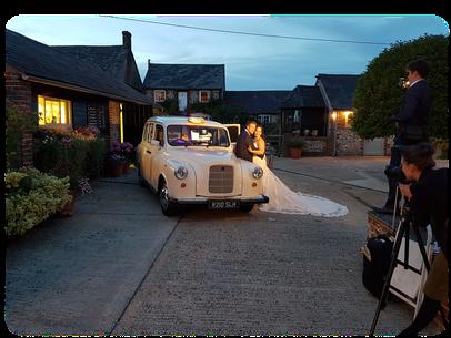 Wedding Photo Booth Taxi