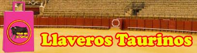 llavero taurino toro España regalo original souvenir toros