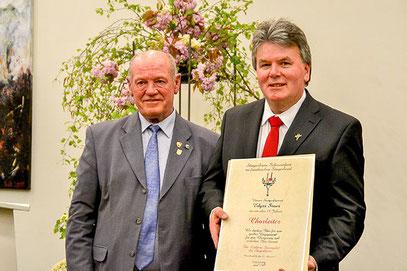 Goldene Stimmgabel für Egdar Sauer - GV 1967 Frankenwinheim - 2017
