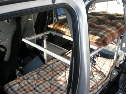 軽ボックス ベッド トランポ