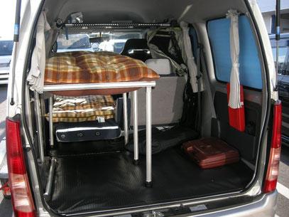 サンバー 二段ベッド
