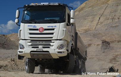 Allradfahrzeug Swiss Camion