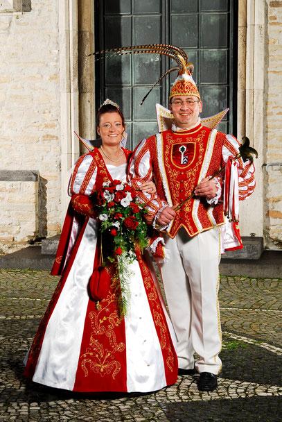Matthias I./ KG Urgemütlich und  Sabrina I./ Grün-Weiß-Langenhorst