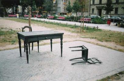 Nelly-Sachs-MAHNMAL (c) De Toys, August 1997 (Köppenplatz, Berlin-Mitte)