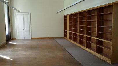 Ausstellungsraum auf Schloss Kalkum, 2.Etage