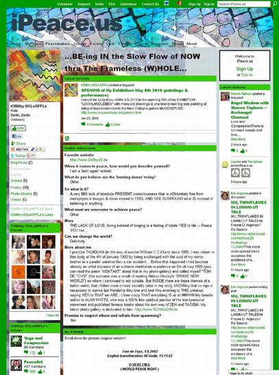IPEACE (c) Screenshot vom 15.7.2012