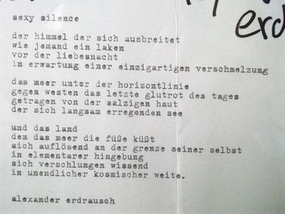 SEXY SILENCE (c) Alex Nitsche @ Objektlyrik-Ausstellung, Tacheles 1998 (Berlin)