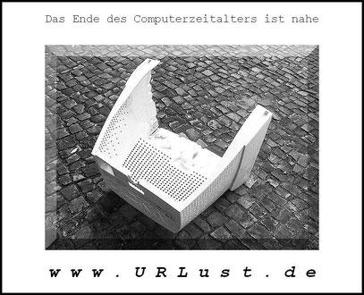 DER LEERE MONITOR (c) De Toys, 17.5.2011 @ Reuterkiez (Berlin-Neukölln)