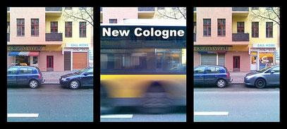"Triptychon: ""CALL HOME"" (c) De Toys, 7.3.2009 (Pannierstreet, Reuterkiez)"