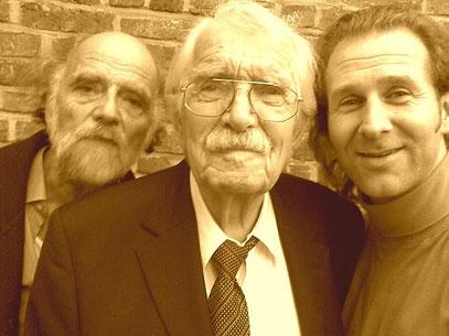 VON LINKS: Rech, Vogt, De Toys (c) G&GN, 31.10.2009 @ Jülich (90.Geburtstagsfeier)