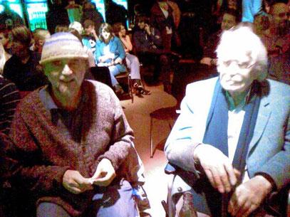 Peter Rech & Hans Vogt @ zakk 21.3.2010 (c) FOTO: De Toys (DÜSSELDORF)