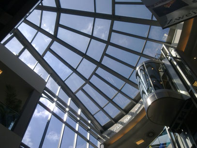 STERNENLIFT-Panorama (c) De Toys, 6.7.2012 @ Sternverlag (DOWNTOWN DÜSSELDORF)