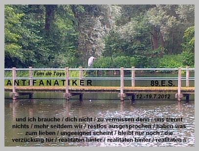 Mehr Collagen: LyrikFoto.de (c) FOTO: De Toys, 18.7.2012 @ Deichsee (Ddorf-Südpark)