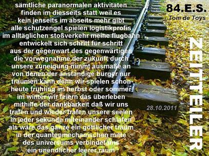 Collage: 30.10.2011 (c) FOTO: De Toys, 26.10.2011 @ Görlitzer Trasse (B-Kungerkiez)