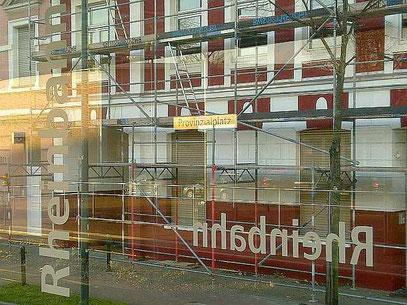 DIE SONNE GEHT IN WERSTEN AUF (c) De Toys, 25.11.2011 @ Ubahn Provinzialplatz