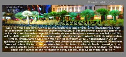 """MIAMI DDORF"" (c) FOTO: De Toys, 12.1.2012 @ Stresemannplatz (Düsseldorf)"