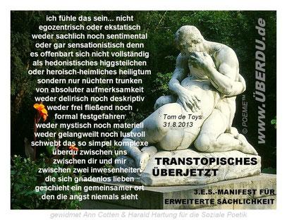 (c) FOTO by G&GN: Skulptur von Peter Breuer, 22.8.2013 @ Flora-Park (Düsseldorf)