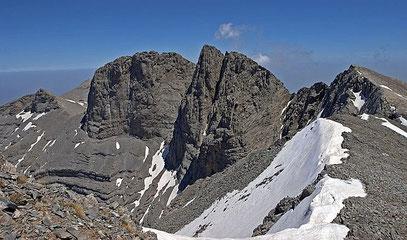 OLYMP (Gebirgskette in Griechenland) © Wikihase