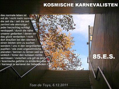 (c) FOTO: De Toys, 30.11.2011 @ Ubahnsteig Opernhaus (Düsseldorf)
