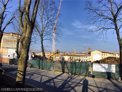 Borgo San Lorenzo - Veduta dai bastioni 21/03/2002