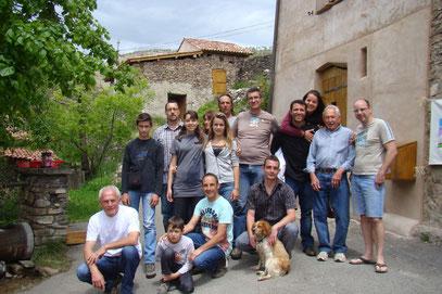 Fête de 2012 : Une belle équipe, mais ils ne sont pas tous sur la photo