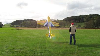 Jens Braun mit seiner Krill Katana Elektro