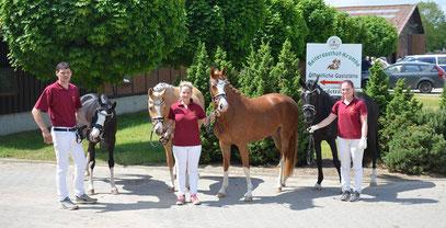 Team Juliane Kraus - Foto: Juliane Kraus