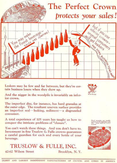 1933 advertising...