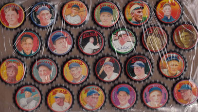 24 Helmar beer baseball set USA 2002.