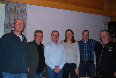 Vorstand der Dorfgemeinschaft Stübbeken