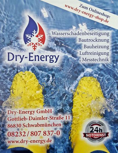 Bauaustrocknung für München und Umgebung