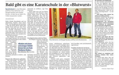 Bericht Aargauer Zeitung
