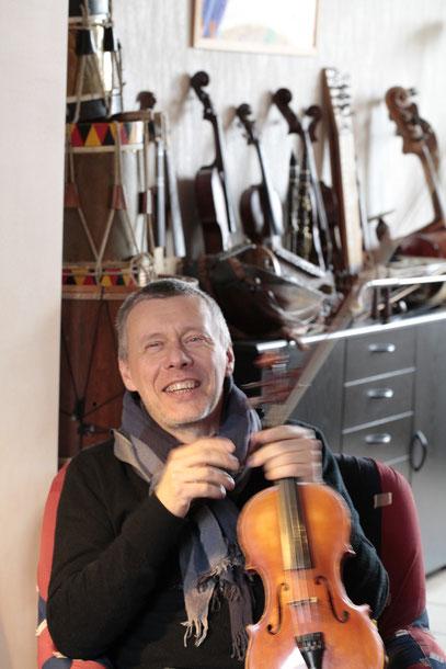 Thierry Legros musicien créateur