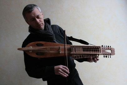 Thierry Legros nyckelharpa Condi