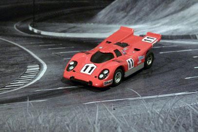 AURORA AFX Porsche 917k Team David Piper - Wetson's Drive In #11
