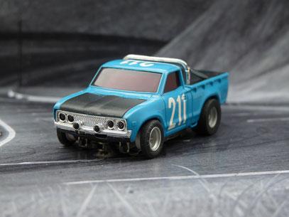 AURORA AFX Datsun Baja Pick Up blau/schwarz #211