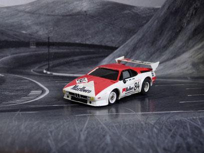 Faller AMS AURORA AFX BMW M1 Team Marlboro #84