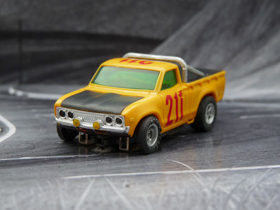 AURORA AFX Datsun Baja Pick Up orange/schwarz #211