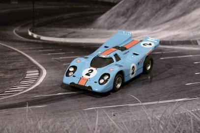AURORA AFX Porsche 917k Gulf