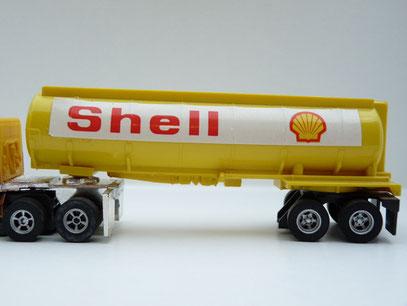 Shell Tank-Auflieger