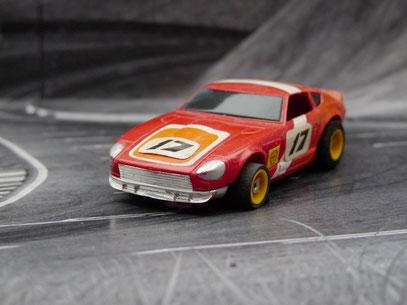 AURORA AFX Bre Datsun Z240 rot/orange #17