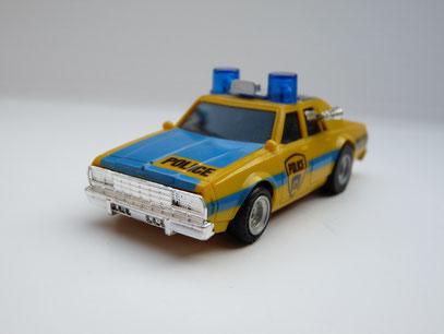AURORA AFX Chevy Police Car gelb/blau Variante 3