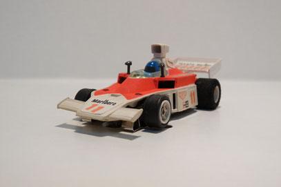 Faller AMS McLaren F1 weiß / hell pink Texaco Marlboro
