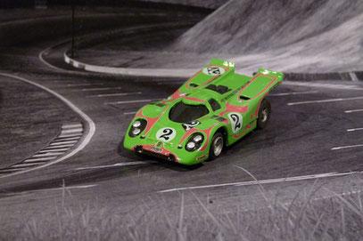 Faller AMS AURORA AFX Porsche 917k Hippie