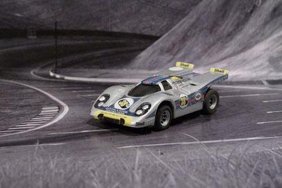 Faller AMS AURORA AFX Porsche 917k Maritini Racing
