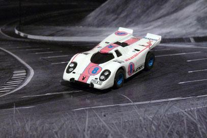 Faller AURORA AFX Porsche 917k Playbox