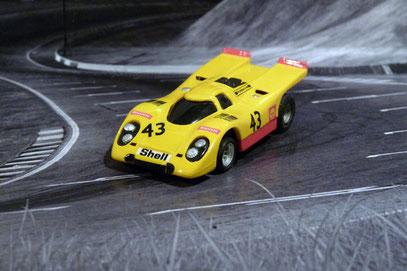 Faller AMS AURORA AFX Porsche 917k Team A.A.W